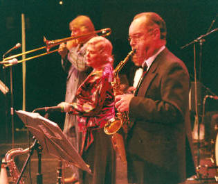 The EL Jazz Band in Warwickshire