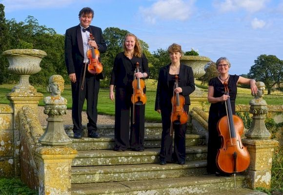 The CE String Quartet in Ludlow, Shropshire