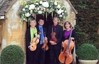 The CE String Quartet in Gloucestershire