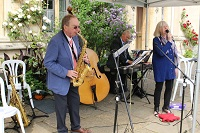 Judy  & her Jazz Band in England