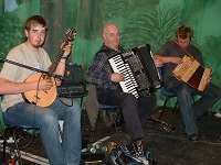 The BR Ceilidh Band in Burton-upon-Trent, Staffordshire