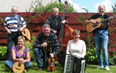 The SL Scottish Ceilidh Band in Central Scotland
