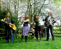 The OK Ceilidh Band in Herefordshire