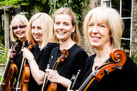 The SB String Quartet in Bishops Stortford, Hertfordshire