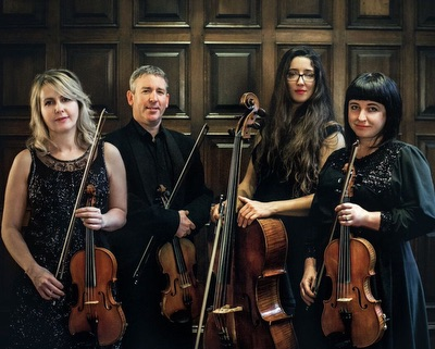 The AS String Quartet in England