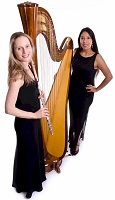 The HS Flute & Harp Duo in Milton Keynes, Buckinghamshire