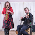 The DF Ceilidh Duo in Northumberland