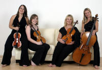 The HW Electric String Quartet