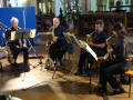 The SL Saxophone Quartet in Essex