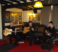The BM Gypsy Jazz Trio