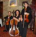 The AD String Quartet in Wakefield, Yorkshire