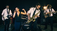 The DF Funk Party Band in Chipping Norton, Oxfordshire