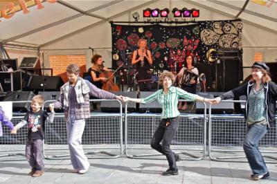 The KK Ceilidh Band in Herefordshire