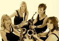 The ST Saxophone Quartet in London