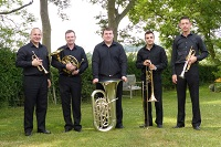 The TS Brass Quintet in Bedford, Bedfordshire