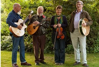 The MW Ceilidh band in Burton-upon-Trent, Staffordshire