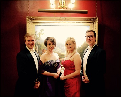 The BR Vocal Quartet in Buckinghamshire