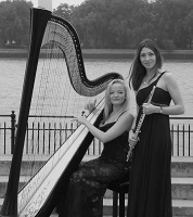 The FT Flute & Harp Duo  in the Chilterns, the South East