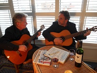 The CA Guitar Duo in Cambridgeshire