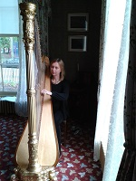 Harpist - Anna in North Wales
