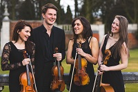 The LS String Quartet in Huntingdon, Cambridgeshire