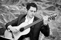 Classical Guitarist - Timothy in Swanage, Dorset