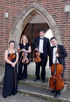 The AT String Quartet in Bedford, Bedfordshire