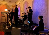 The AT Jazz Band in the East Midlands