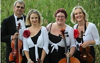 The CB String Quartet in Aldridge