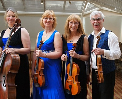 The SC String Quartet in Coventry, the West Midlands