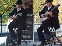The GJ Jazz Duo in Reading, Berkshire