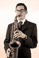 Saxophonist  - Carlo in Herefordshire