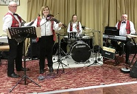 The SM Ceilidh Band in Maidstone, Kent