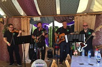 The KC Irish Ceilidh Band in Swanage, Dorset