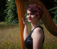 Harpist - Anna in Greater London, London