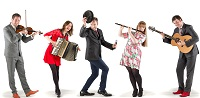 The CM Ceilidh Band in Buckinghamshire
