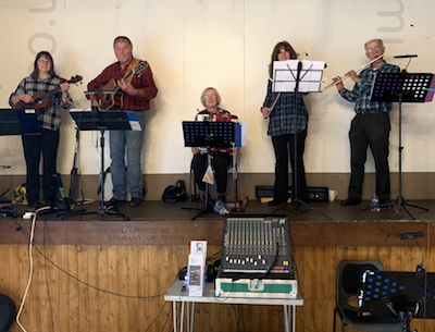 The RJ Ceilidh Band in Essex