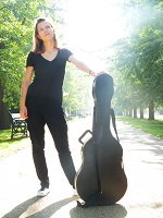 Guitarist - Anastasiya in the Chilterns, the South East