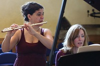 The AN Flute & Piano Duo in Yorkshire