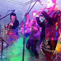 The AT Celtic Ceilidh Band in Norfolk