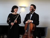 The DB Flute & Cello Duo in Esher, Surrey