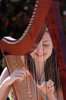 Harpist - Scarlett in Oxfordshire