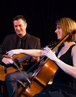 The DA Cello & Guitar Duo in East Anglia, the East of England