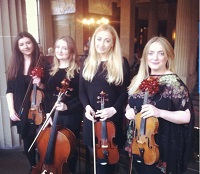 The EC String Quartet in Warrington, Cheshire