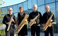 The SF Saxophone Quartet in England