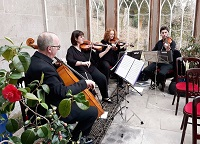 The SC String Quartet in the Scottish Borders