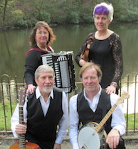 The HF Barn Dance and Ceilidh Band in the East Midlands
