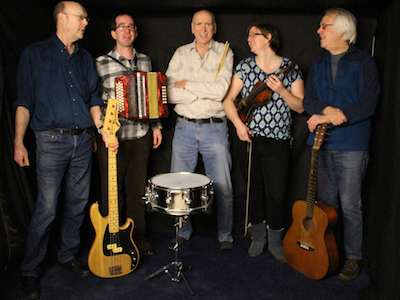 The SB Barn Dance Band in Essex