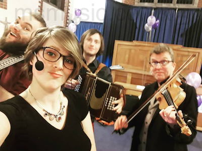 The HT Ceilidh Band in Herefordshire