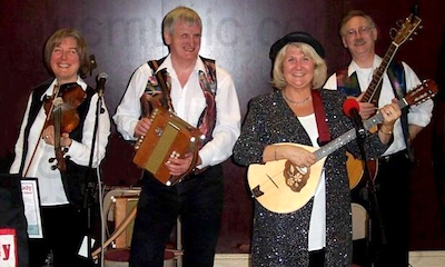 The DB Ceilidh Band in Yorkshire
